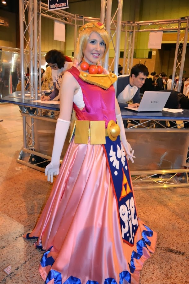 Cosplay de La Princesa Zelda en Mangafest 2013