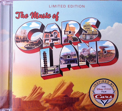 The Music of Cars Land CD cover