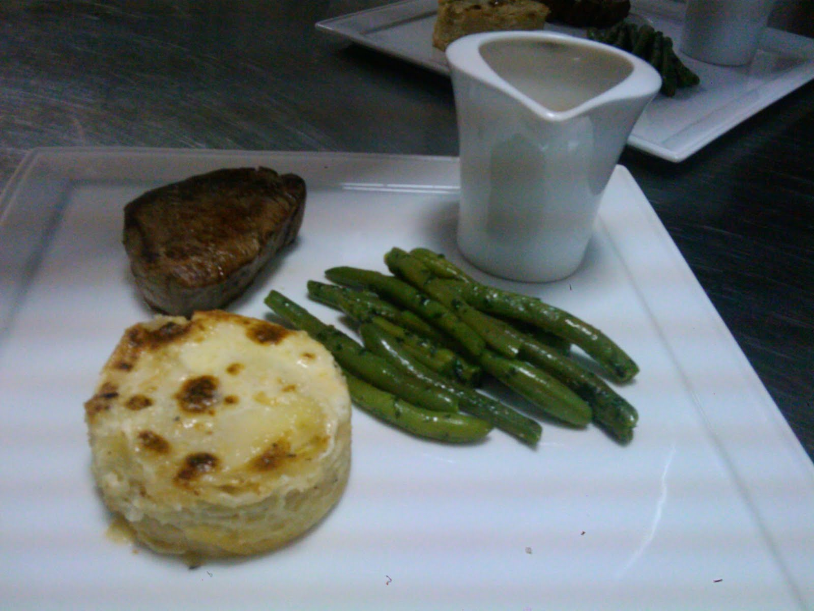 filet de Boeuf au Gratin dauphinois