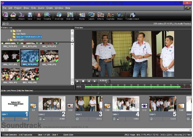 Software membuat slideshow foto