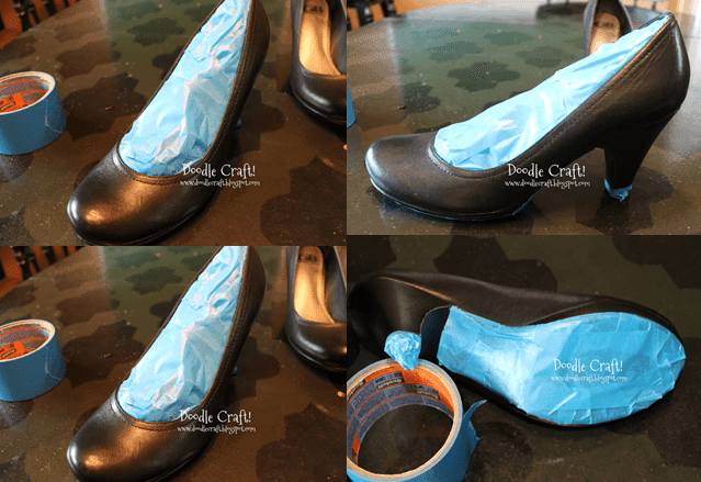 el yapımı ayakkabı hazırlama