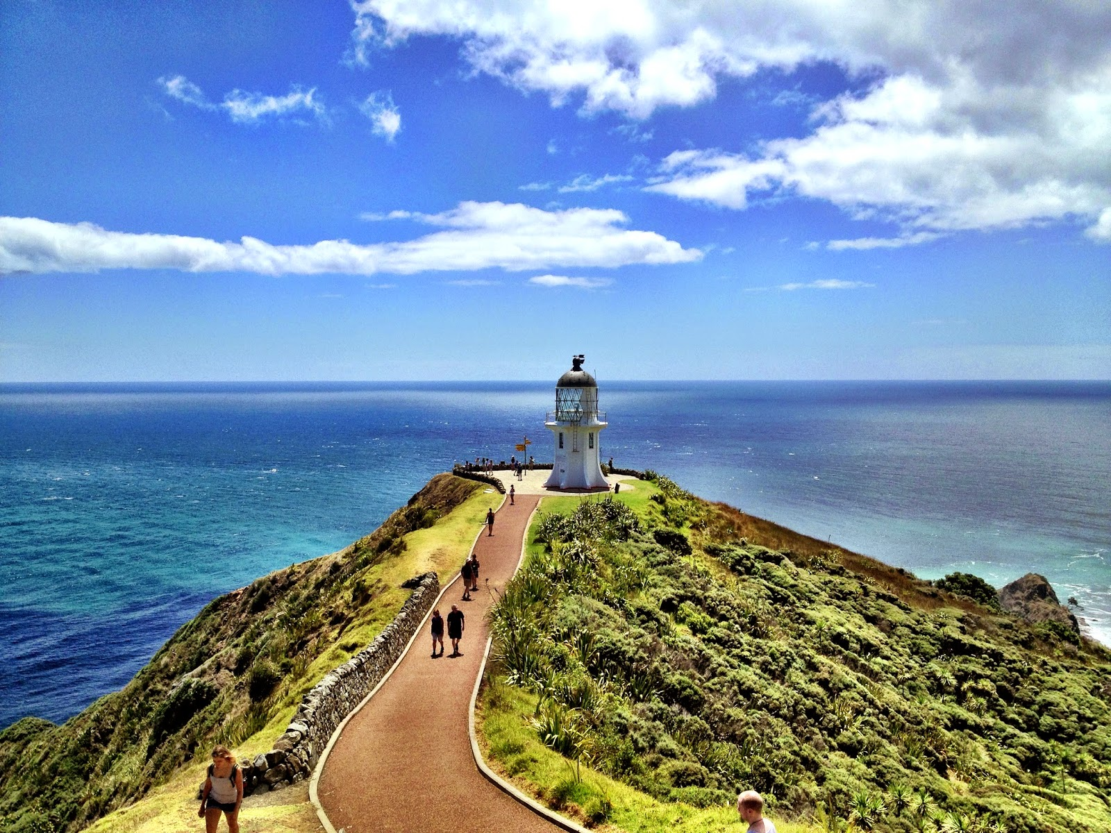 Cape Reinga - the most Northerly point of New Zealand