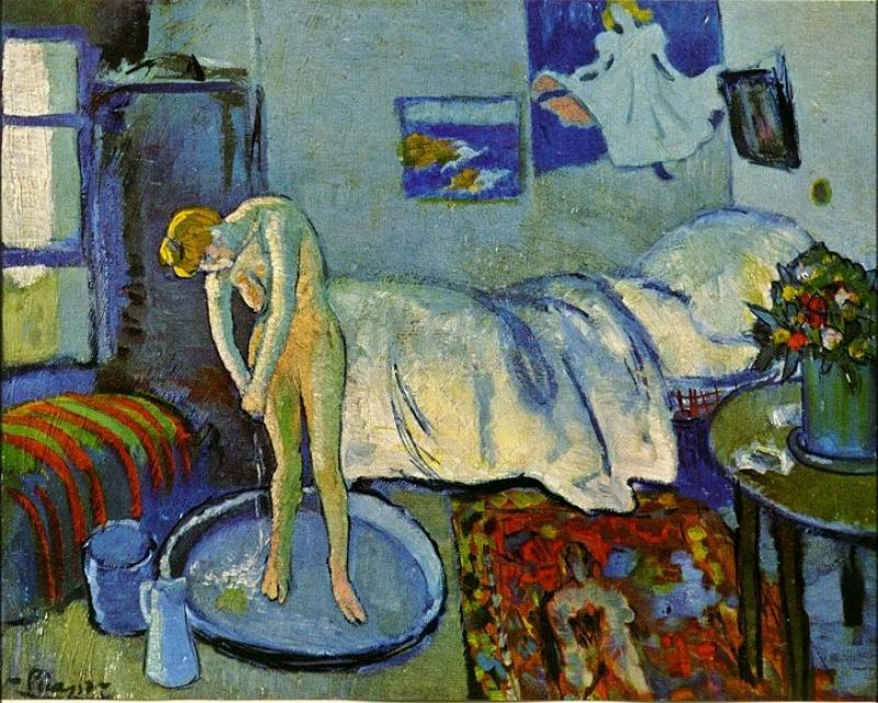 I have to go to the bathroom in spanish - La Belle Et La B 234 Te London Art Lichtenstein