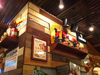 Bubba Gump Shrimp Co. decor