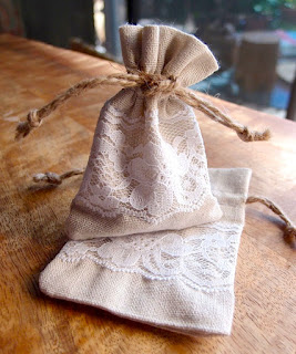 SRM Stickers Blog - NEW Products from SRM! - Day #3 - Bags, Tags & Christmas Stockings - #fabricbags  #linen #lace #new #rustic