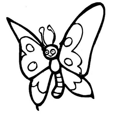 imagens para colorir borboleta - Borboletas Desenhos para Colorir