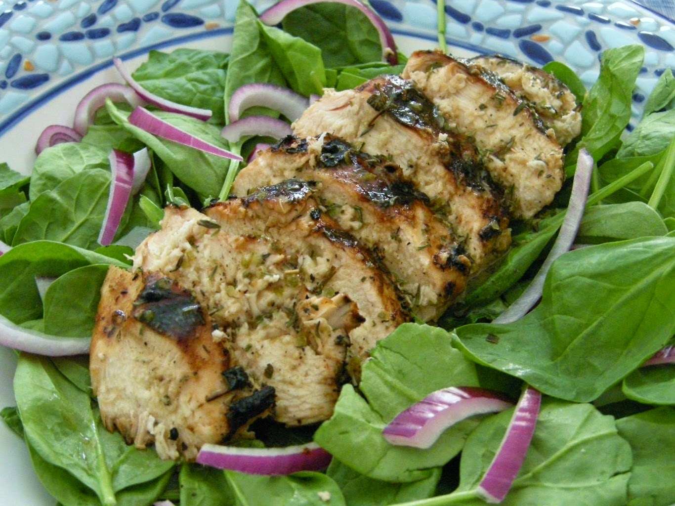 exported from mastercook buttermilk brined chicken breast salad 2 cups