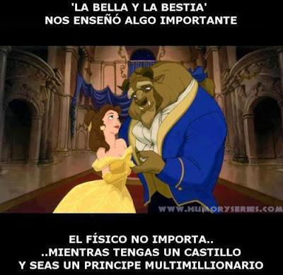 Enseñanzas Disney: 'La Bella y La Bestia'
