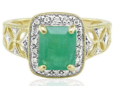 EmeraldRings whitegoldrings gold rings engagementrings goldrings stonerings stonejewellery252822529 - Emerald Rings