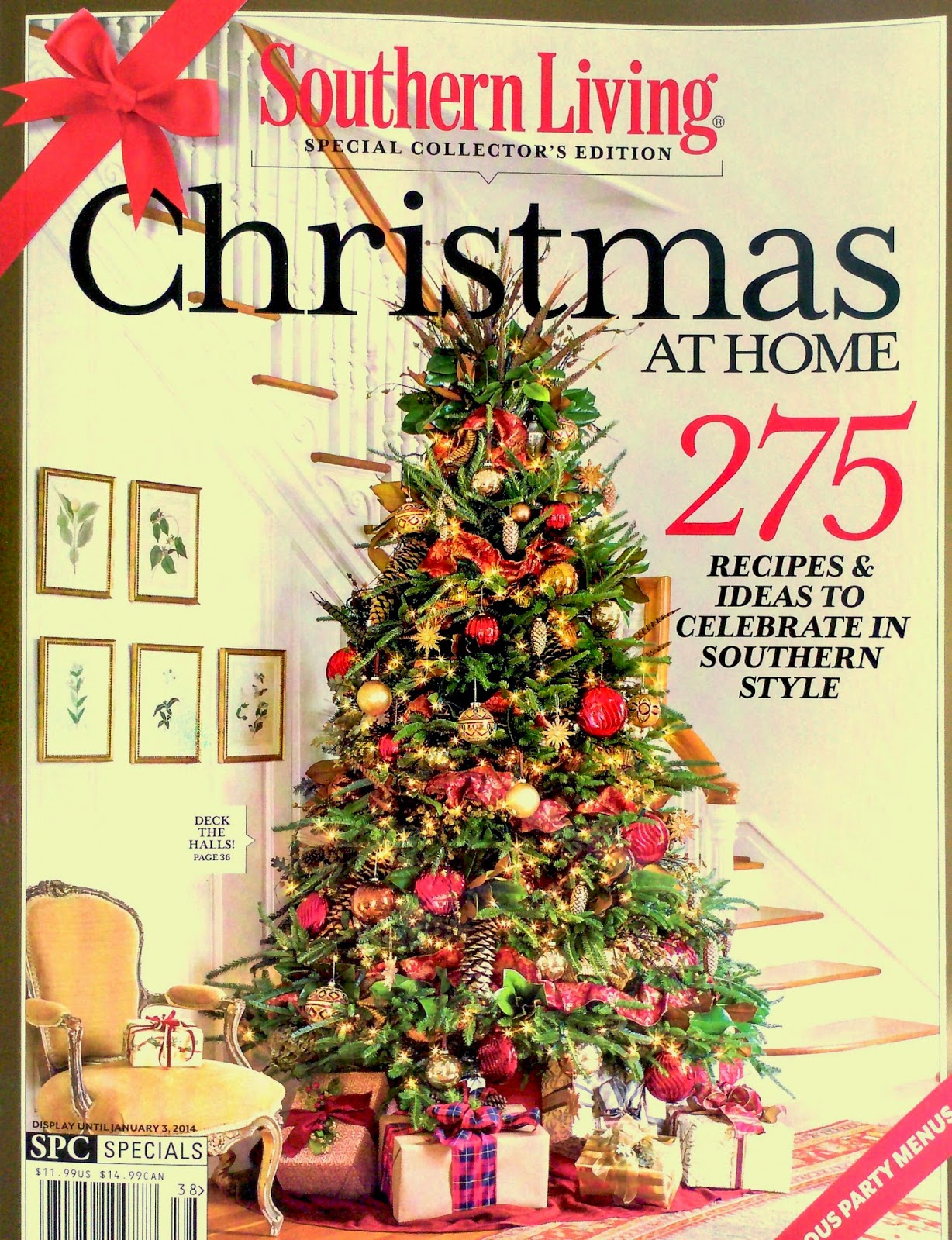 .Vintage Glamour is featured in Southern Living Christmas at Home | 1228 x 1600 · 574 kB · jpeg
