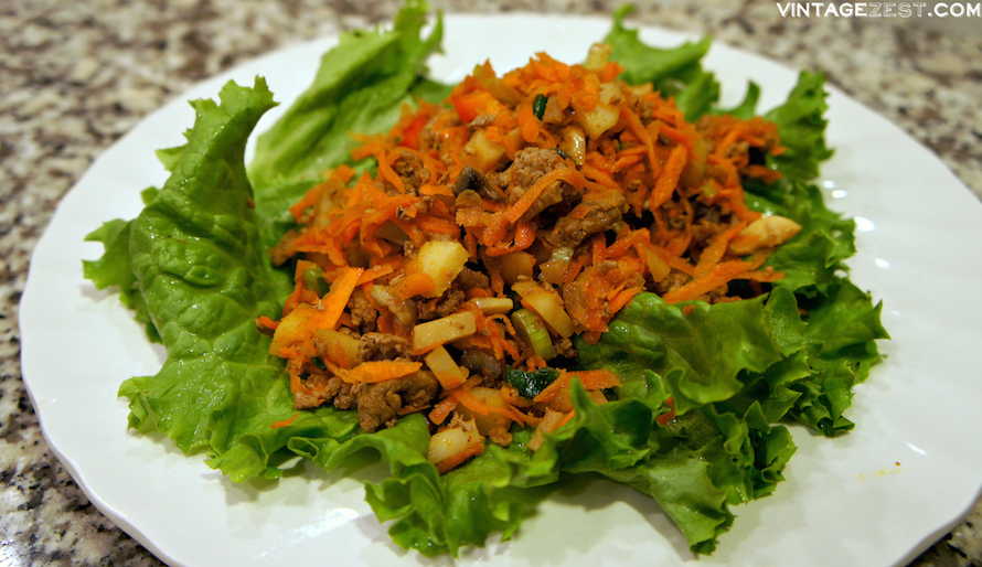 Lettuce Wraps on Diane's Vintage Zest!  #recipe #healthy