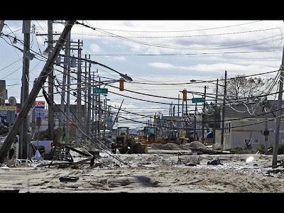 Nueva Jersey tras el paso del huracán Sandy