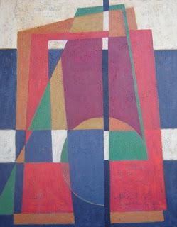 pintura en tela. cuadro abstracto en acrílico por ImaPerezAlbert