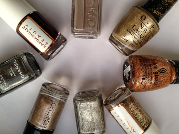 Favorite Fall Nail Polishes.
