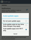 Auto update Play Store
