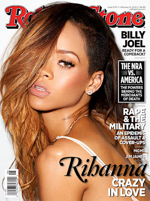Rihanna on Rolling Stone cover talks about Chris Brown