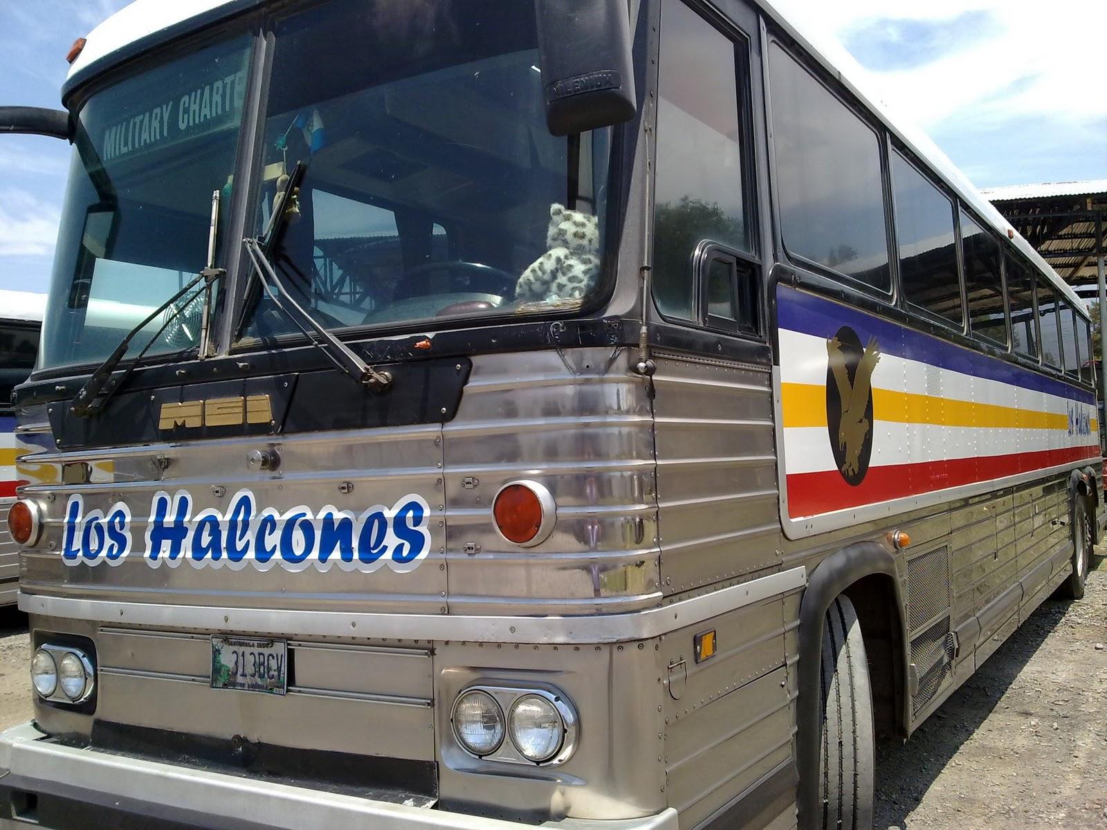 Buses hacia mi amado Huehuetenango