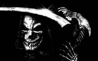 Grim Reaper Skeleton HD Wallpaper