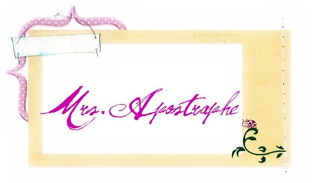 Mrs. Apostrophe