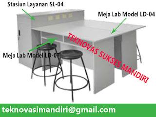 furniture lab sekolah