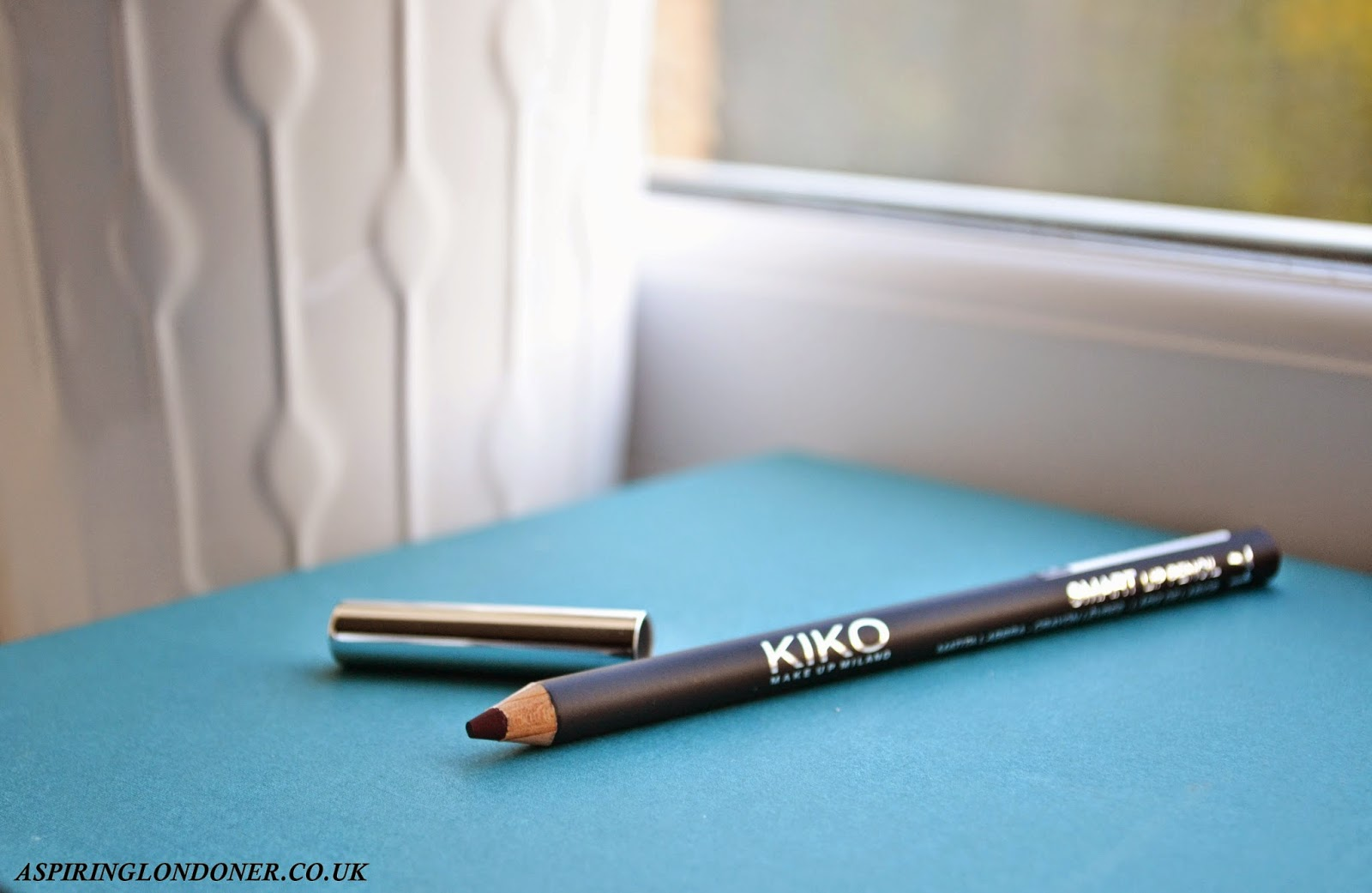 Kiko Smart Lip Pencin in 710 Rouge Noir Review - Aspiring Londoner