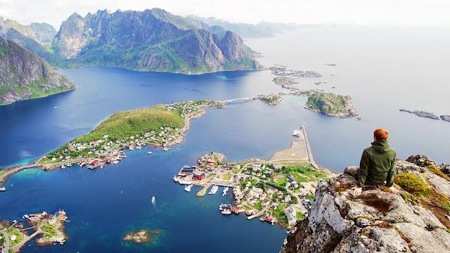 Paisajes Naturales islas Lofoten en Noruega