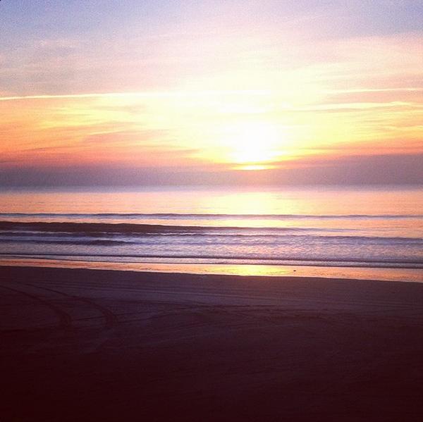 Sunrise, beach, new jersey