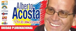 ALBERTO ACOSTA PRESIDENTE