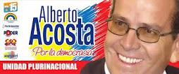 ALBERTO ACOSTA PRESIDENTE