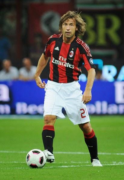 Biografi Andrea Pirlo » Pesepak Bola Italia