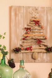 DIY: Árbol de Navidad con madera de deriva / Driftwood Christmas Tree