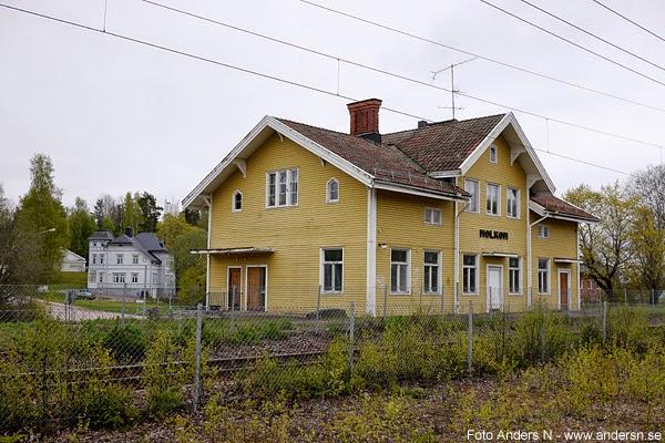 Molkom, Molkoms station, järnvägsstation, tågstation. tåg, järnväg