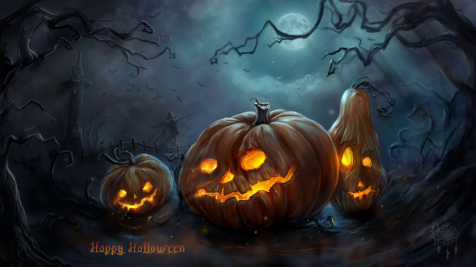 happy halloween animated images free download - Free Halloween Pictures To Download