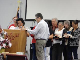 Adult class at Elm Tree Baptist Church