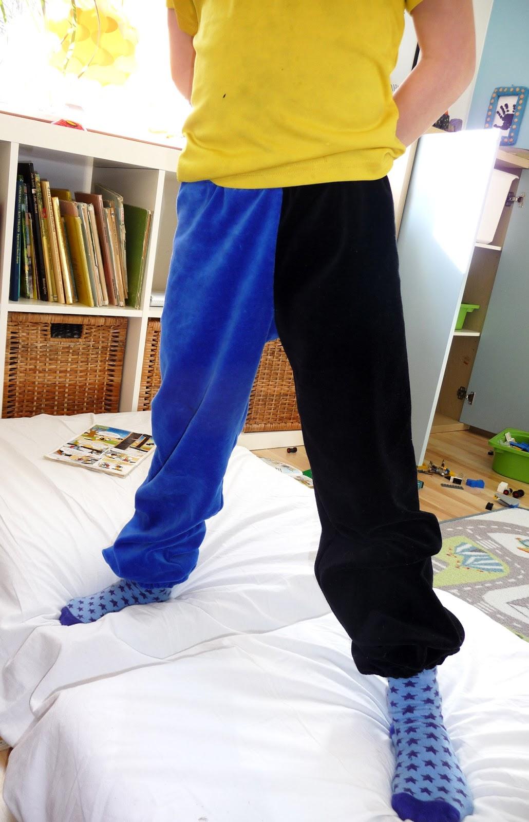 PS Pyssla och Sy Två ben, två färger