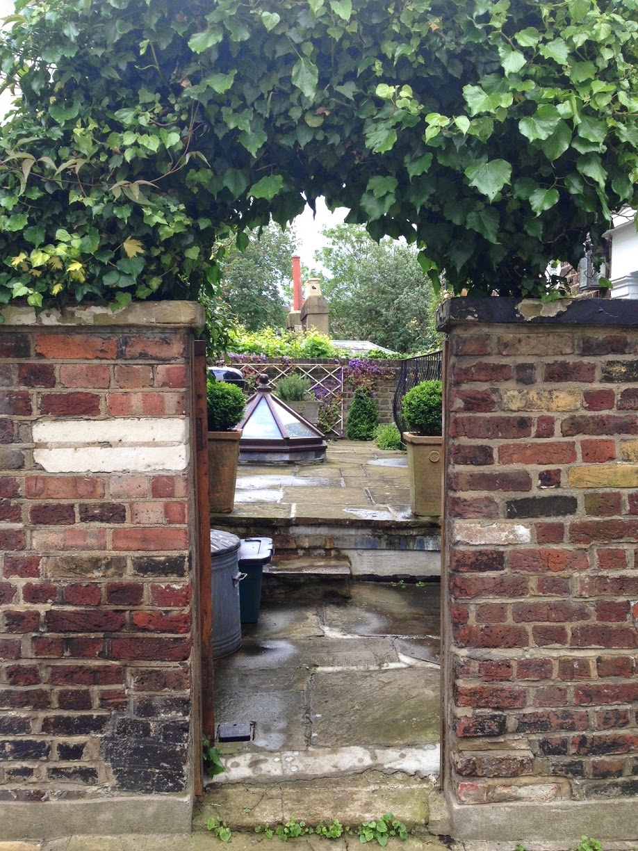 View into garden, Hampstead, London NW3