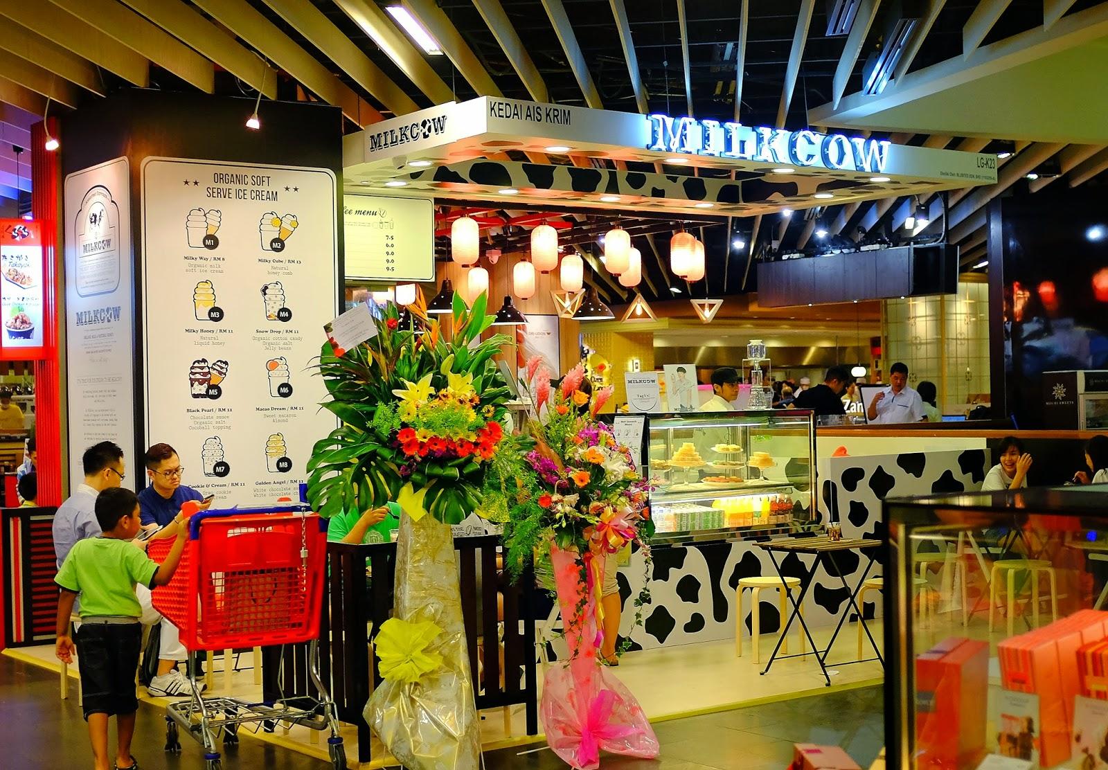 ... KL: Milkcow Malaysia & Magnum Ice Cream Cafe Kuala Lumpur @ Mid Valley