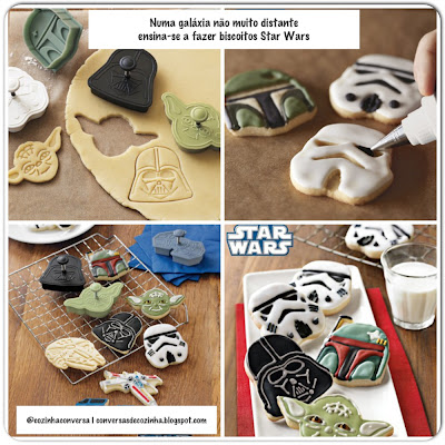 galáxia, Jedi, Padawans, cupcakes decorados, biscoitos decorados, Williams Sonoma, pasta americana, Claudia Midori, Aventuras Gastronômicas, Star Wars Clone Wars, biscoitos star Wars, cupcakes do star wars,