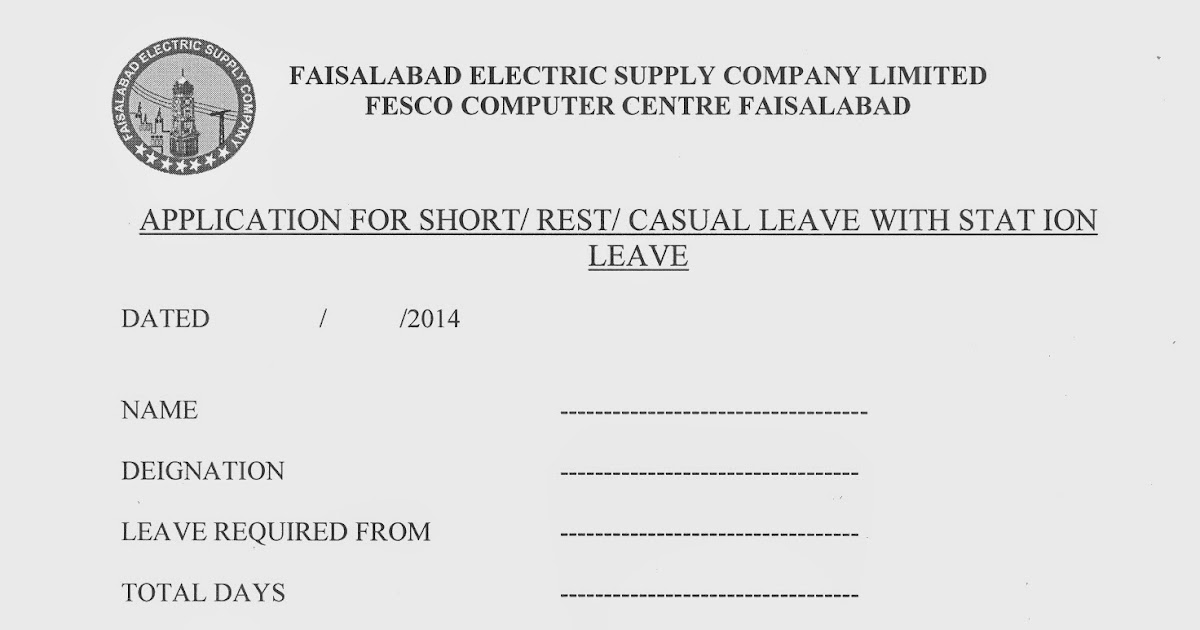 Fesco Faisalabad Electric Supply Company Employees Related