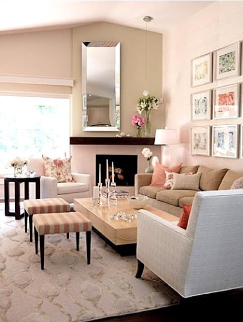 Hướng dẫn bố trí tivi cho phòng khách có Sofa 6