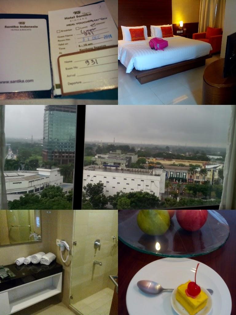 Malam tahun baru di hotel santika bintaro purple catz for Dekor ulang tahun di kamar hotel