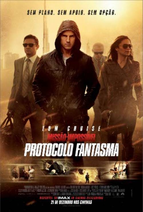 Missão Impossível – Protocolo Fantasma – Full HD 1080p