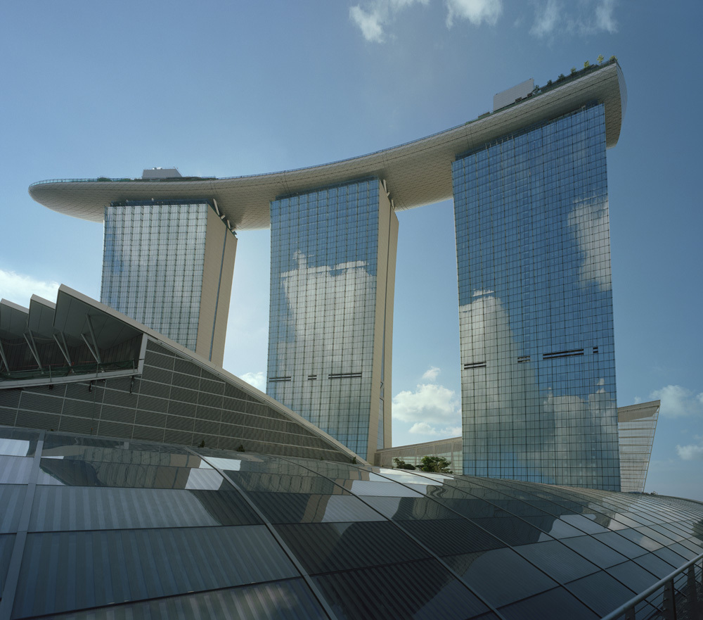 Marina Bay Sands Singapore Facts Pod