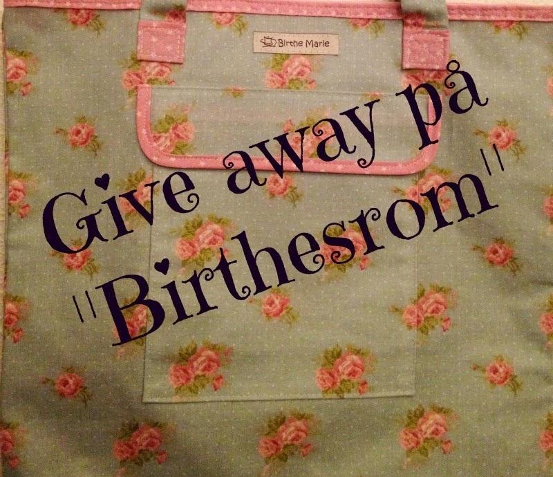 Give Away hos Birthesrom