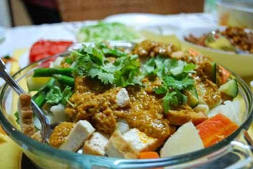 Wisata kuliner malang Gado gado