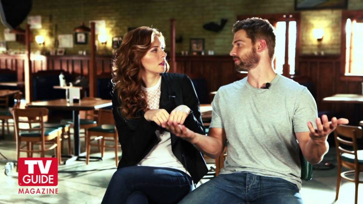 Under the Dome - Season 2 - Rachelle Lefevre and Mike Vogel TV Guide Interview [VIDEO]