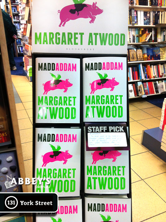 MaddAddam by Margaret Atwood ~ Abbey's Bookseller Pick