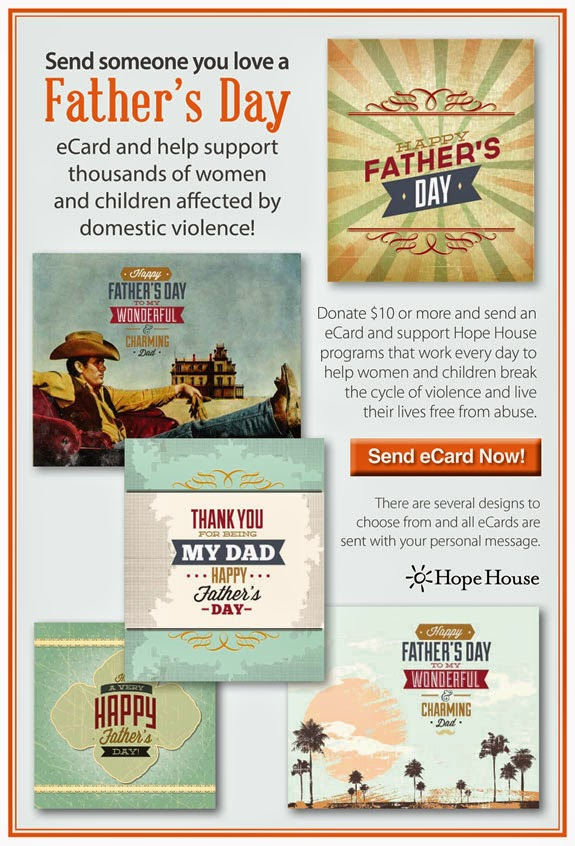 Father's Day eCard from Hope House!