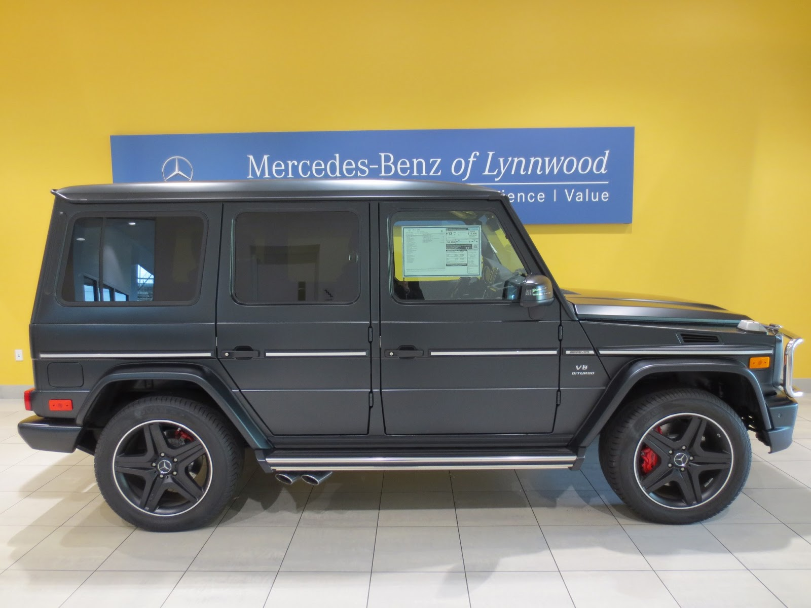 Mercedes Benz Of Lynnwood Blog Designo Matte Black G63 Amg 174