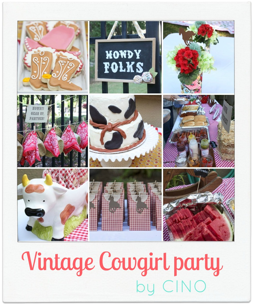 Charlottes Vintage Cowgirl Party